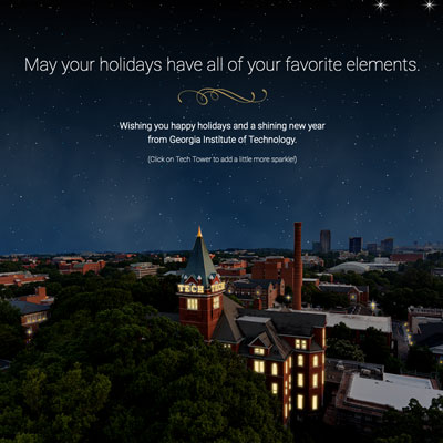 holiday greeting interactive thumb